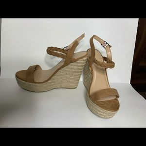 Women's Wedges size 8.5 Never Worn